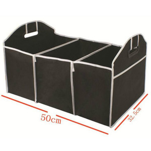 Image 4 - Car Multi Pocket Trunk Organizer Large Capacity Folding Storage Bag Trunk Stowing and Tidying Trunk Organizer Car Accessories