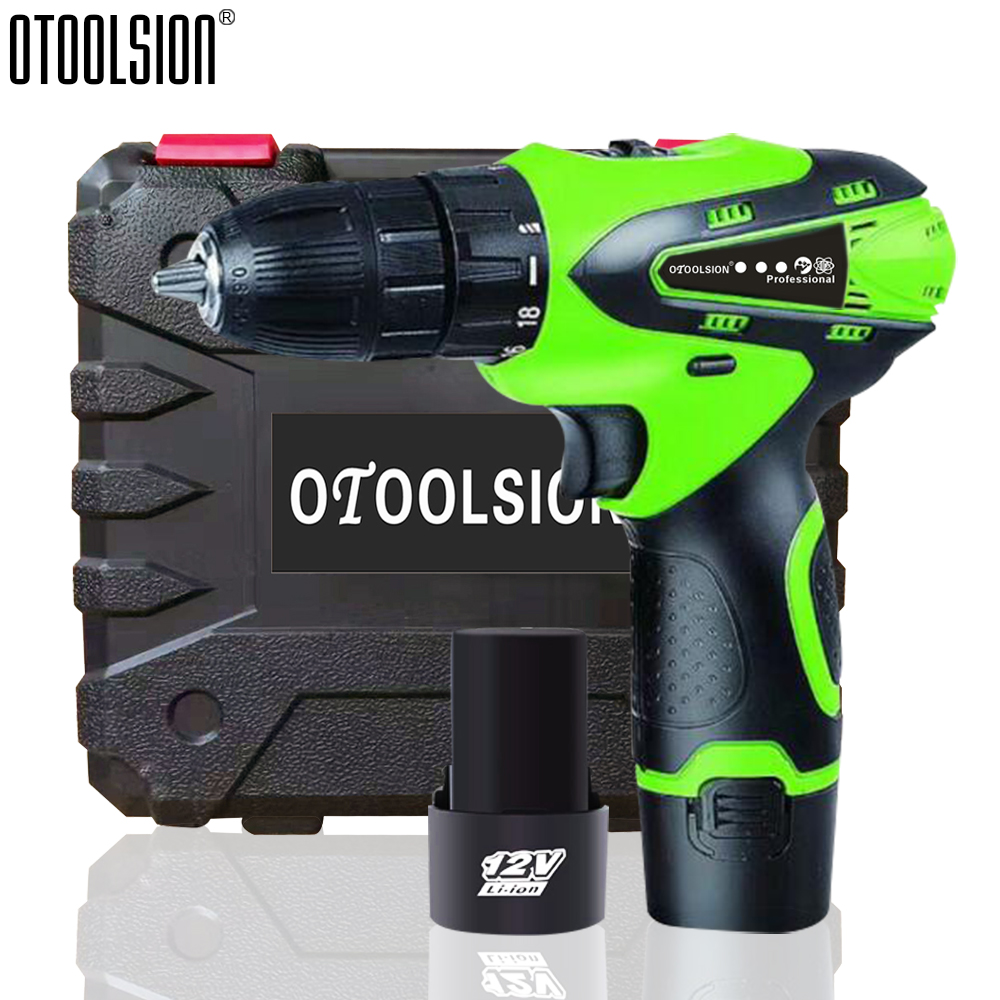 12V 1500mah Small Drill Cordless Drill Power Tools Mini Electric Drill Charging Drill Screwdrivers With 2 Batteries For DIY Home (3)