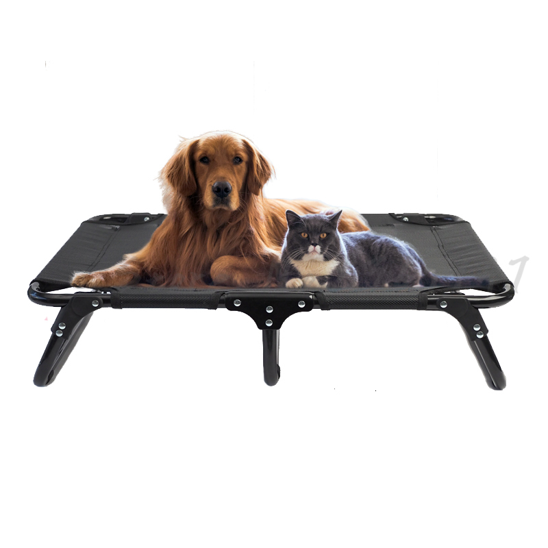 Slip Pet Camp Bed Summer Cool Nest Off The Ground Dog  Folding Free Installation Moisture-proof Breathable Honden Mand
