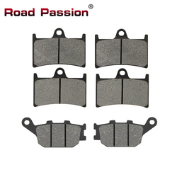 Road Passion Motorcycle Front and Rear Brake Pads for Yamaha YZF600 YZF600RR YZF 600 R6 R6S R1 YZFR1 MT07 MT09 XSR700 FZS1000