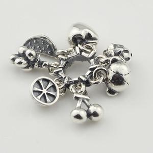 Image 3 - Silver Fruit Bear Charm Beads Silver 925 Original Beads Fit Original Bracelet Jewelry Bead for Jewelry Making Bead Pendants