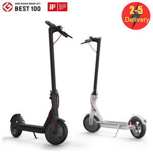 No Tax ! EU/US Stock Folding Electric Scooter With 8.5inch Bicycle Scooter 3-5 Days Delivery In Stock 7.8Ah 250W Commute LWT