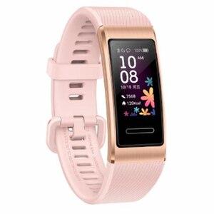 Image 5 - Original Huawei Band 4 Pro GPS Smart Band Metal Frame Color Touchscreen Blood oxygen Swim Heart Rate Sensor Sleep Bracelet