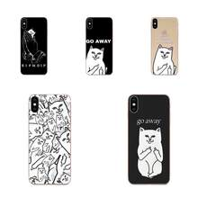 TPU Case Middle Finger Funny Cartoon Lovers For Galaxy Grand A3 A5 A7 A8 A9 A9S On5 On7 Plus Pro Star 2015 2016 2017 2018(China)