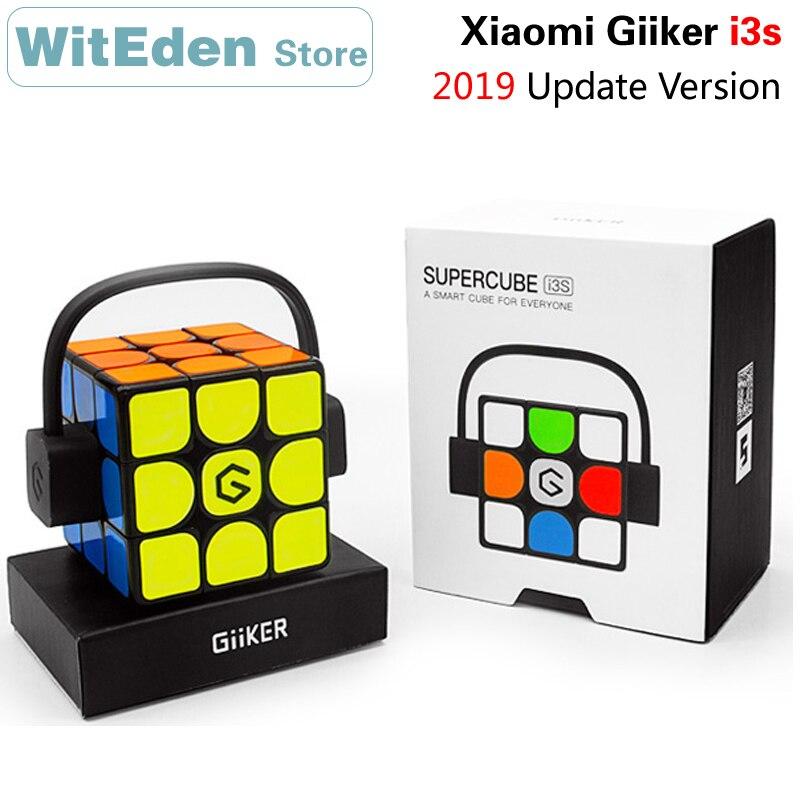 Xiaomi Giiker i3s 2019 Version de mise à jour Super Intelligent 3x3x3 Cube magique 3x3 magnétique AI Bluetooth APP Intelligent Cube de vitesse Puzzle