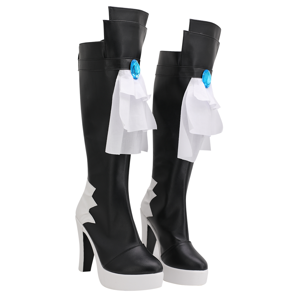 Final Fantasy 14 Gaia Cosplay Boots High Heel Shoes Custom Made for Unisex (3)