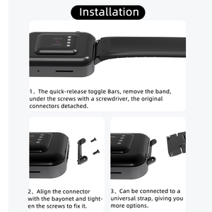 Image 5 - For Mi Watch Band Metal Strap For Xiaomi Watch Band Wristbands Bracelet Watch Wrist Band For Xiao Mi Wtach Connector 20mm Linker