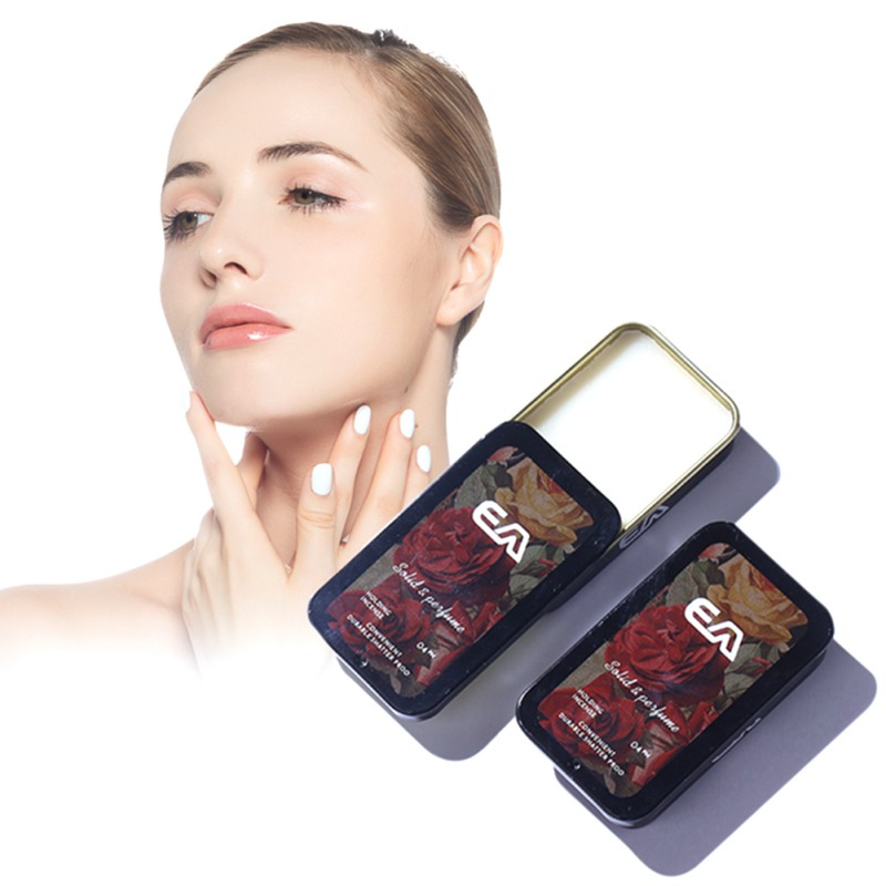 Blind Shiqpping Solid Long Lasting Aroma Deodorant Fragrances Solid Perfume Portable Case Solid Balm