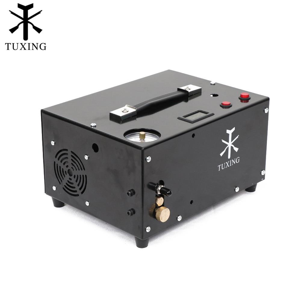 Txet061 compressor de ar pcp 4500psi 12 v compressor portátil para pcp rifle ar ship from brazil 30mpa