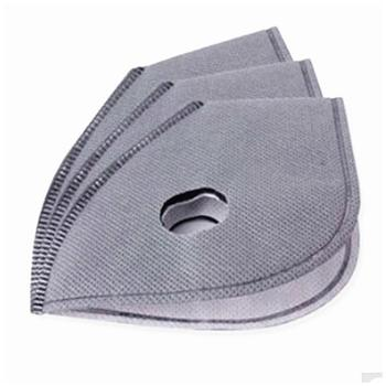 Cycling Mask PM 2.5 Anti-smog Mask Liner Removable Mask Lining Activated Carbon Mask Accessory Filter Breath Filter Replace Flu