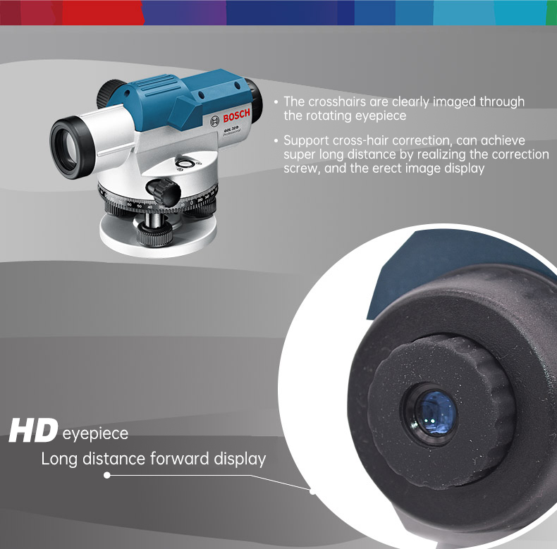 positive image display HD eyepiece super long distance forward display