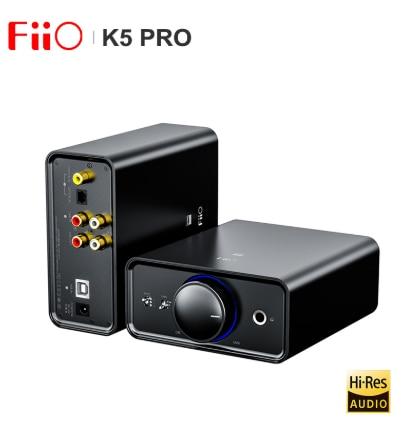 FiiO K5 Pro HiFi Audio AK4493 amplificatore Deskstop AMP DAC con uscita RCA/6.35/3.5mm USB-B/OPT/coassiale/ingresso RCA 768K/32bit DSD512