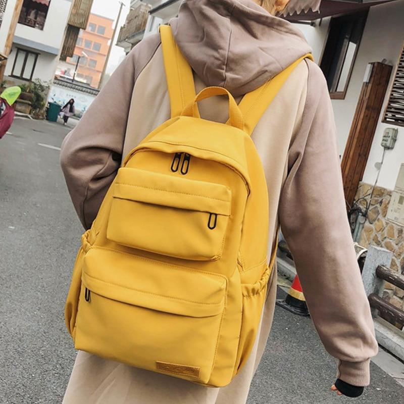 CESHA Pretty Style Waterproof Nylon School Backpack Fashion Multi Pocket Schoolbag High Quality Waterproof Nylon Book School Bag