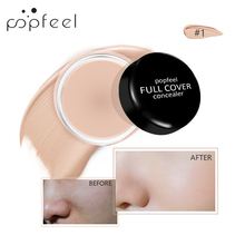 POPFEEL 5 Color Facial Makeup Natural Concealer Cover Up Makeup Conceal Dark Circles Acne Pore Concealer Cream Face Base Primer все цены