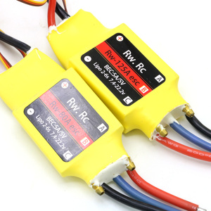 Image 3 - 1pcs 2 6S 30A/50A/80A/100A/200A ESC 5V/3A 5V/5A UBEC Brushless Speed Controller ESC For RC Boat UBEC 200A/S