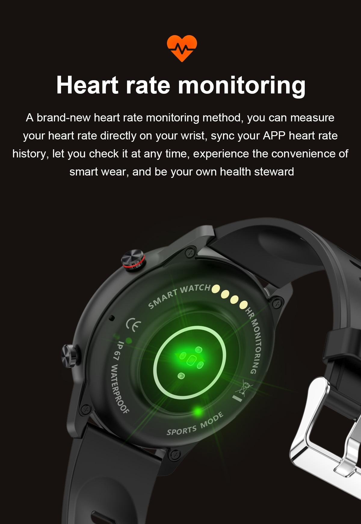 H0beadfd24bb24b5a834ba216cf3b9948b 2021 NEW Smart Watch Women Men Full Touch Fitness Tracker IP67 Waterproof Smartwatch For Android Xiaomi Redmi