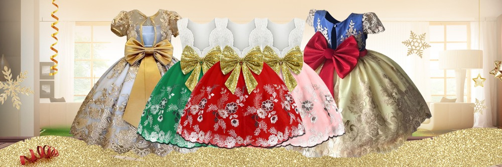 H0beaec08701a48f0a6eb40d22b989f2ay Princess Flower Girl Dress Summer Tutu Wedding Birthday Party Dresses For Girls Children's Costume New Year kids clothes