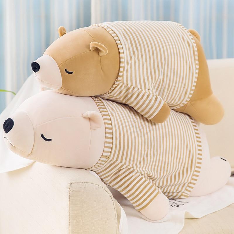 maternity pillow super soft polar bear body pillow cute plush toy boyfriend pillow for women gift home decoration home textile