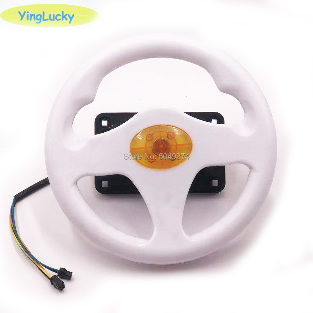 Yinglucky Steering Wheel For 31 In 1 Racing Car Flame Flying Car Run Way TRAVELINSTYLE Children Arcade Machine