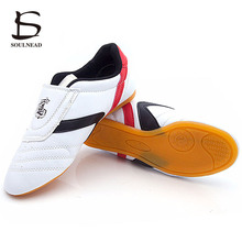 Sneakers Shoes Boxing Taichi Light-Weight-Wrestling Kung-Fu Martial-Arts Karate White