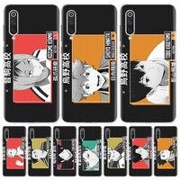 ¡Anime tee! Tarjeta de Identificación de funda de teléfono para Xiaomi Redmi Note 10 9S 9 8T 9 8 7 7A 8A 9A 9C 6A 6 S2 K20 S30 Pro de la cubierta a la moda de la Capa