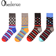 2019 fashion Colorful dot in stockings colorful mens socks personality cotton women sox gifts