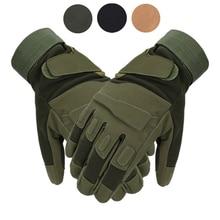 Тактические перчатки с закрытыми пальцами на открытом воздухе, для спорта, для катания Нескользящие перчатки в стиле милитари страйкбол пе...