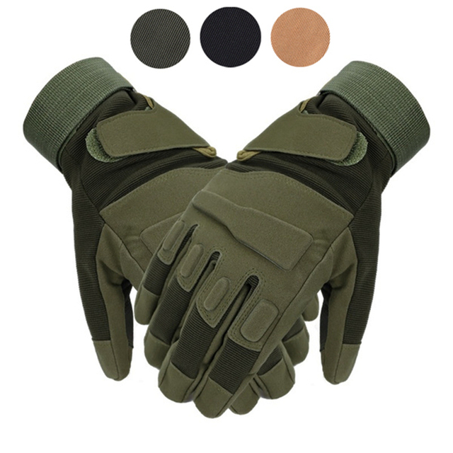 Tactical Full Finger Gloves Outdoor Sports Bicycle Antiskid Gloves Military Army Paintball Shooting Airsoft Cycling Half Glove 1