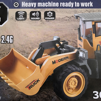 Rc Excavator Remote Control truck Forklift Tractor Model Engineering Car Construction Bulldozer toy