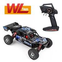 2021 Hot Wltoys 124018 1:12 RC Car 60 Km/h 2.4G 4WD ad alta velocità Off-road Crawler RTR arrampicata adulti telecomando giocattoli per auto regalo