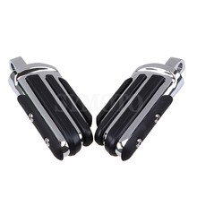 купить XL 883 Motorcycle Front Rear Footrests Foot pegs For Harley Touring Dyna Heritage Softail Iron 883 V-Rod Sportster XL 883 1200 по цене 2396.83 рублей