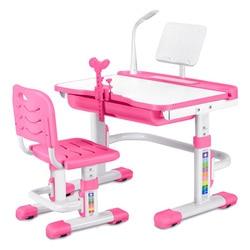 Металлический шезлонг стол стул для ученика регулируемая высота ученический стол с функцией разделения поясничной поддержки стулья детск...