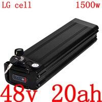 48v 20ah bateria elétrica da bicicleta 48v 20ah bateria de íon de lítio uso lg célula para 48v500w 750 w 1000 w 1500 w ebike bateria motor