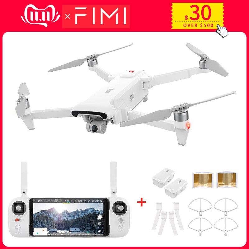 Venta al por mayor Original FIMI X8 SE RC Drone con cámara 4K HD 5KM FPV 33 minutos de vuelo RTF batería de aterrizaje regalos