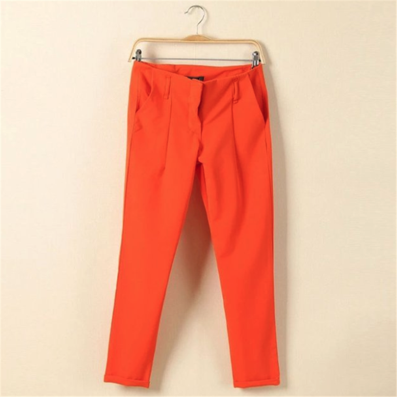 2019 New High Quality Women's Casual Pants Solid Pants