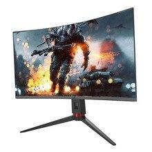 Изогнутый игровой СВЕТОДИОДНЫЙ монитор Fhd 1080p 27 дюймов, изогнутый монитор для ПК, игровой монитор 144 Гц