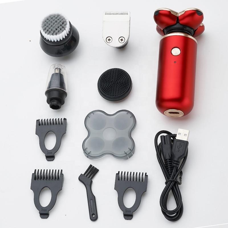 para homens barba navalha flutuante lavavel molhado seco duplo clipper 05