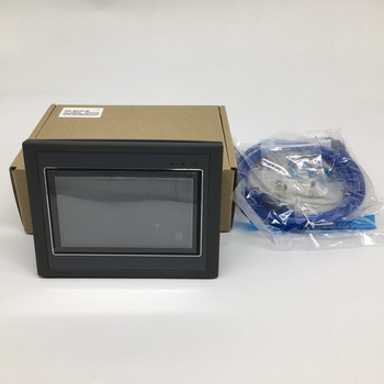 4.3'' HMI PLC All-in-one Integrated Controller 4.3Inch Touch Panel DC 24V Transistor Output I/O 12DI 12DO Modbus RTU RS485 FX2N