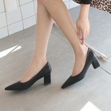 Big Size 34-40 Girl Spring Autumn Thin High Heels Pumps New Fashion Pointed Toe Pumps Women Party Ol Shoes Woman A0011 new sale small and big size 32 46 spring autumn women pumps square toe woman high heels wedding party shoes high quality 7602