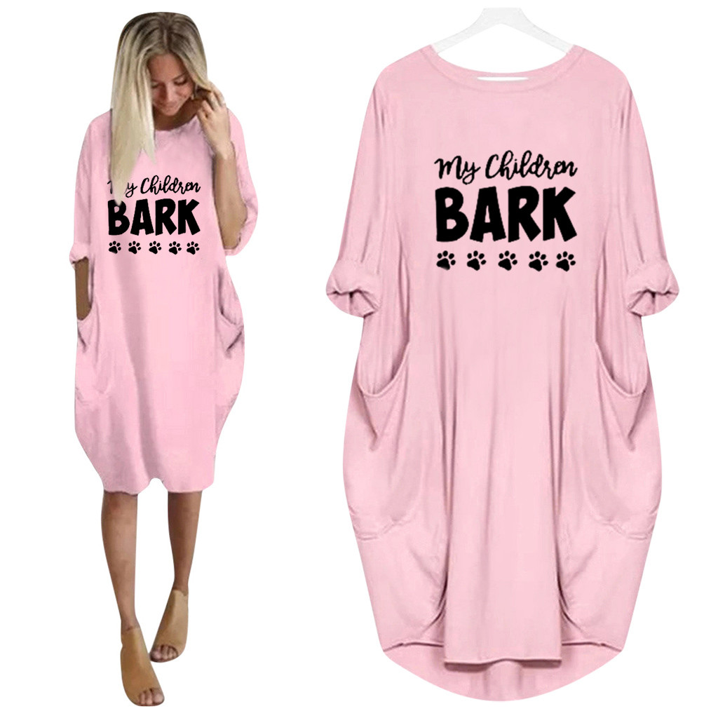 Womens Jumper Ladies Oversized Baggy Long Sleeve Pocket Pullover DressDrop Shipping Supplier Boy Girl The Man Woman Sexy
