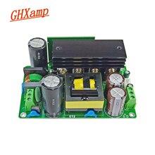 Placa de fonte de alimentação dupla dc 24v 48v 60v 80v 300 500w do interruptor de alta fidelidade de ghxamp com dissipador de calor para o amplificador de baixa potência 1pc