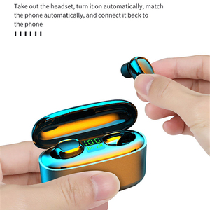Image 5 - TWS Earphones 9D Stereo Wireless Bluetooth Headphone Sport Headset Handsfree Earbuds with Mic Charging Box for Smart Phone