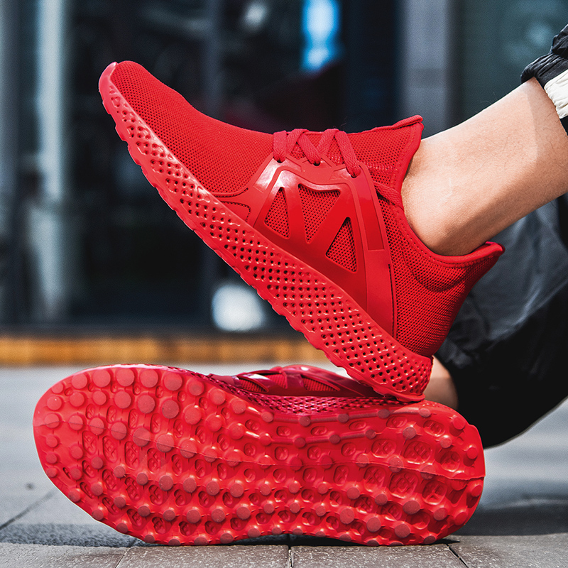 Damyua Hot Sale Running Shoes 2020 New Men's Size 48 Lightweight Shock Absorbing Sports Shoes Fashion Breathable Casual Sneakers 4