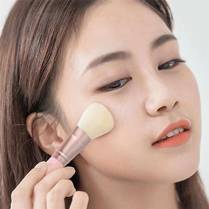 5 Buah Kuas Make Up Set Kecantikan Halus Lembut Halus Alat Riasan Sikat Serat dengan 5 Kuas Eye Shadow SIKAT Kuas Bibir