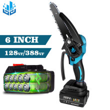 6 Inch 1200W Electric Chainsaw for Makita 18V Battery Portable Woodworking Electric Saw 20V Mini Chainsaw Power Tools EU Plug