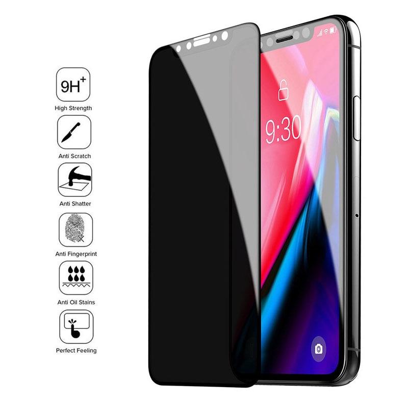 Защитное стекло, закаленное стекло для iPhone 11 Pro Max X XS XR XSMAX 6s 6 7 8 Plus SE2020