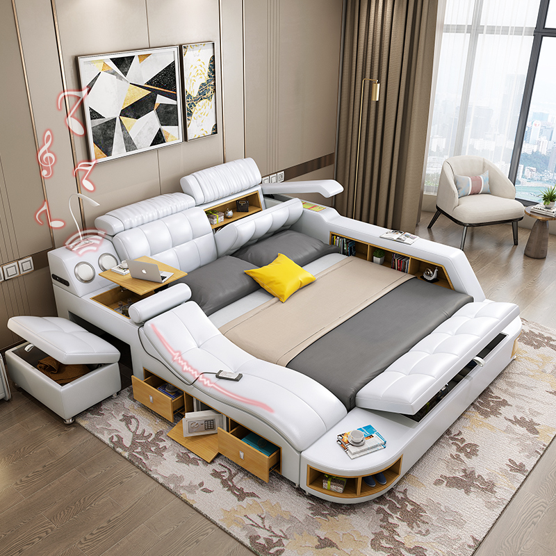 Modern Japanese Style Simple Multifunctional Smart Bedroom Creative Tatami Bed Bedroom Sets Aliexpress