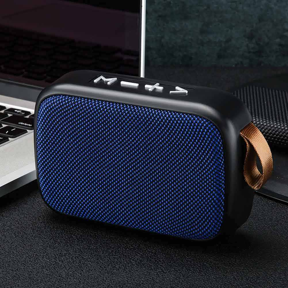 Smartphone Isi Ulang Loudspeaker Kantor Bluetooth Speaker Laptop Surround Stereo Sound Mini Portable Outdoor Rumah FM Wireless