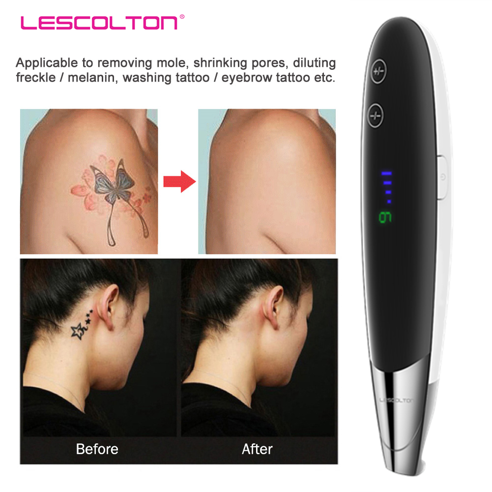 Tattoo Removal Machine Laser Picosecond Pen Remover Rattoo Mole Freckle Dark Spot Eyebrow Pigment Laser Beauty Care Machine