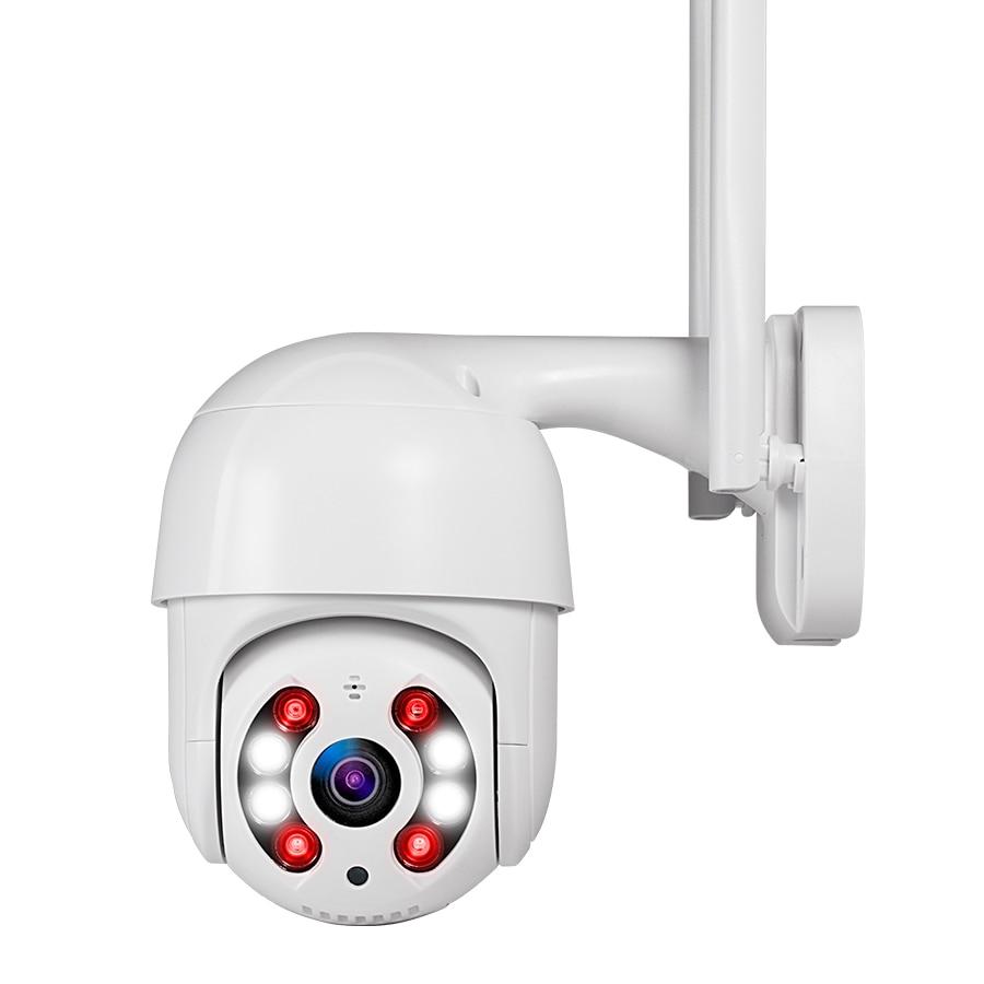 FUERS 1080P IP PTZ Camera Outdoor Waterproof Wireless 2MP WiFi Speed Dome Camera H.264+ IR Home Security CCTV Surveillance